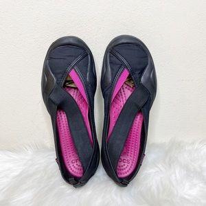 Crocs Molly Slip On Shoes Black Size 9